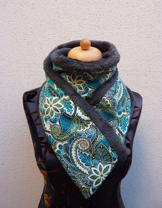 collier bandana femme
