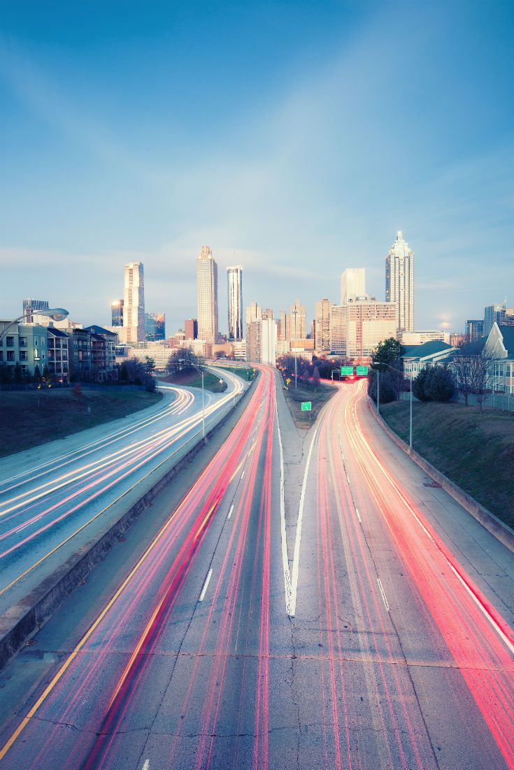 Atlanta Skyline. #Atlanta #USA #Georgia