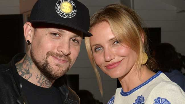 Newlyweds Cameron Diaz and Benji Madden were married on January 5. 2015.