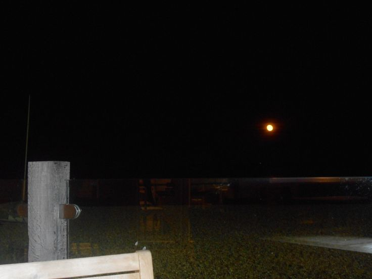The Beach Deck by Night