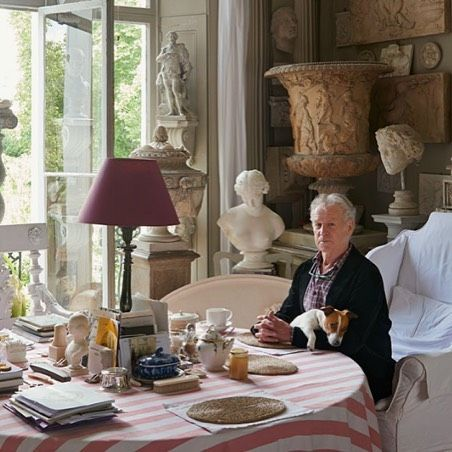Here Is Peter Hone At Home Among Some Of His Treasures Being Auctioned At @christiesinc Later This Month. #peterhone