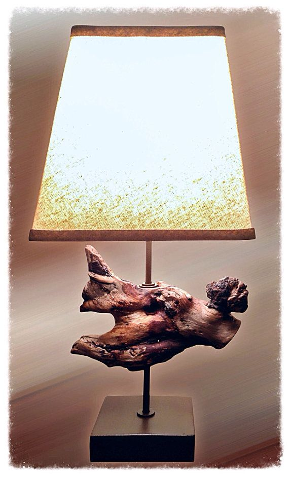 Driftwood Lamp, by Seaside Home Accents