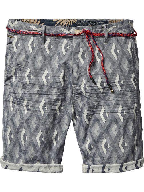 Shorts de lujo