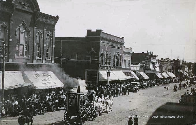 Shenandoah Iowa......early 1900's.