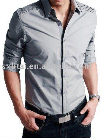 los hombres de marca camisas formales-Camisas para Hombre-Identificación del producto:423882634-spanish.alibaba.com