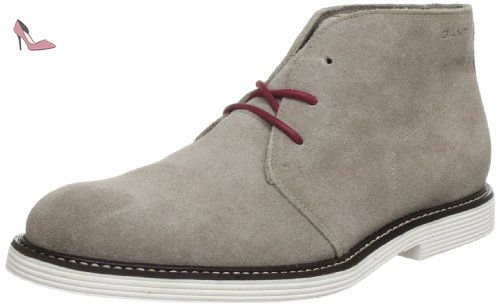 Gant - Nobel - 13644396G860 - Couleur: Gris - Pointure: 45.0