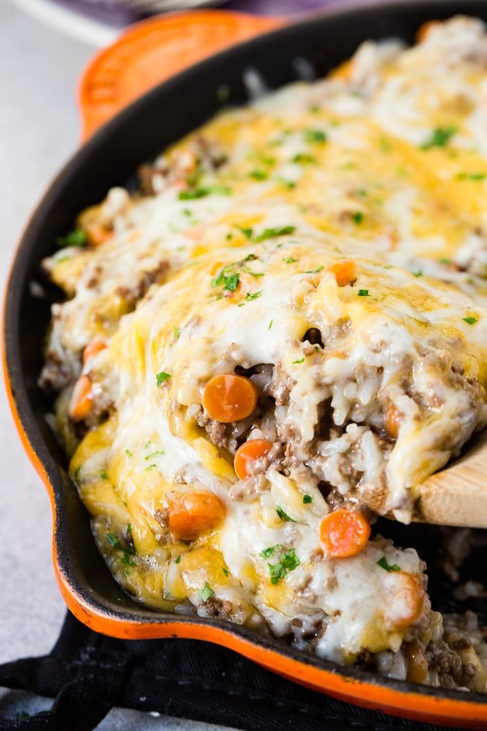 Ground Beef Rice Instant Pot Casserole 10 Minutes Oh Sweet Basil Recipe Instant Pot Dinner Recipes Beef And Rice Beef Recipes Easy
