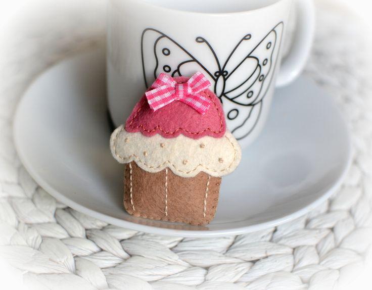 Muffin z kokardką