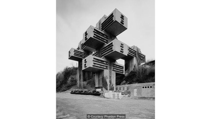 Ministry of Highway Construction, Tbilisi, Georgia, 1975 (Credit: Credit: Courtesy Phaidon Press)