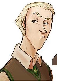Draco Malfoy, Harry Potter Fan Art by Alex <b>Roman: Potter</b> Fanart, <b
