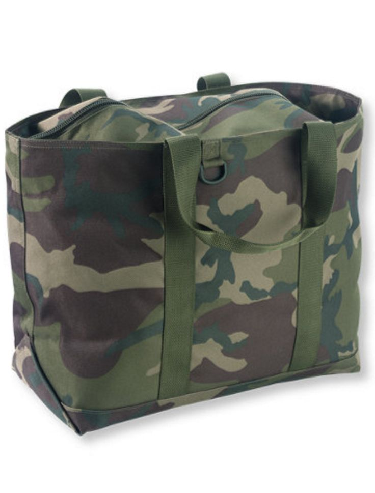 ll bean tote in camo shopping wish list pinterest best camo beans and tote bag ideas. Black Bedroom Furniture Sets. Home Design Ideas
