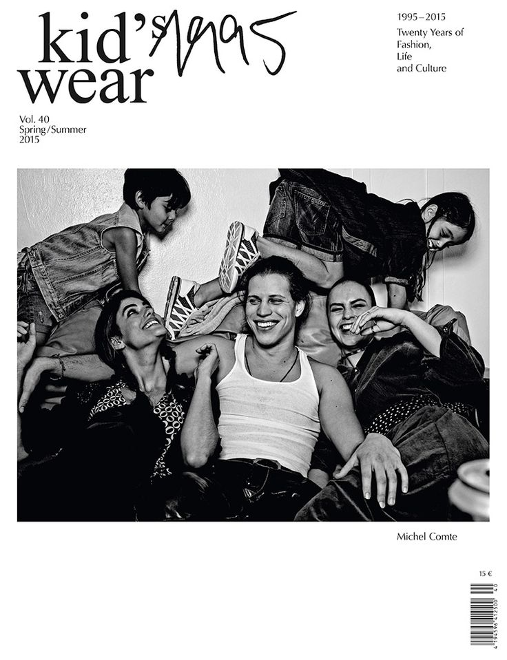 20th Anniversary issue VOL. 40  Cover by Michel Comte