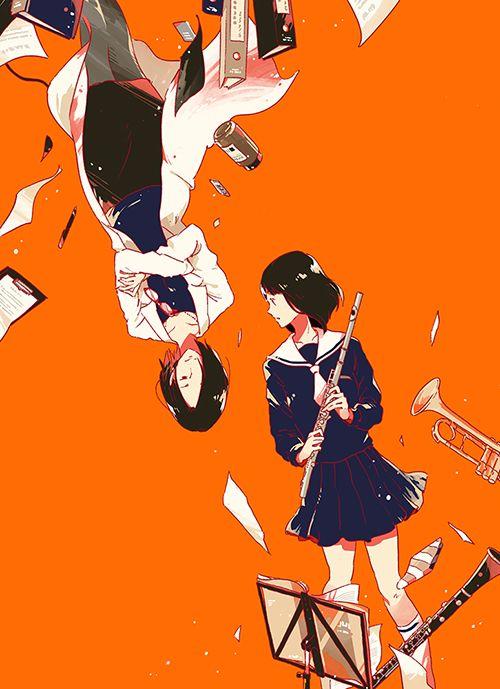 双葉社『保健室の貴婦人』新装版(著:赤川次郎 ) 装画I drew the cover illustration for the novel by Jiro…