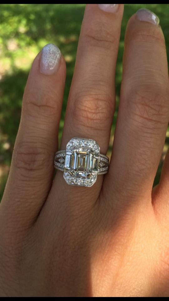 Unique Engagement Ring Custom Designed it for a client!