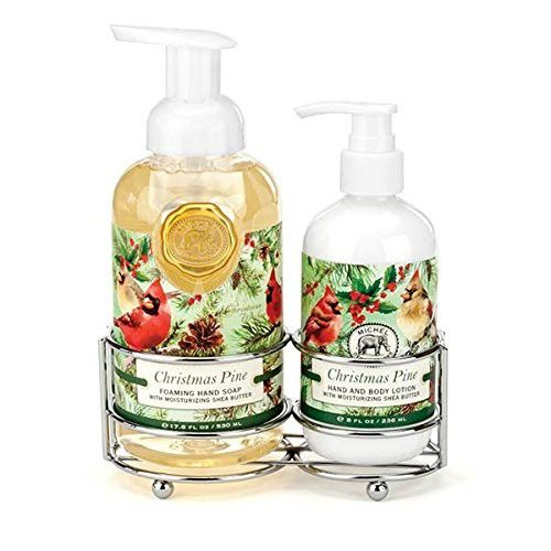 Michel Design Works Scented Foaming Hand Soap And Lotion Caddy Gift