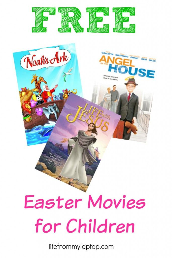 Watch these free easter movies for children with your kids today! The Ultimate Pinterest Party, Week 44