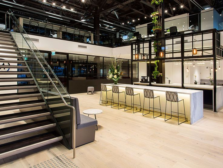 Leading by example - Maximus, Sydney. Style is substance given the nature of this company's business and their blue chip clientele. Fit out designed by Siren Design, their ethos was to blur the lines between lifestyle, hospitality and office environments. Havwoods Alsace PurePlank was selected for the timber flooring throughout.
