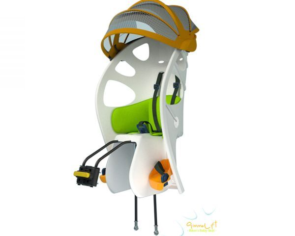 Need this. :) Gimme Lift baby seat esnures safe bike ride for
