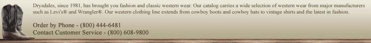 Womens Cowboy Clothing, Western Fashion and Apparel | Drysdales