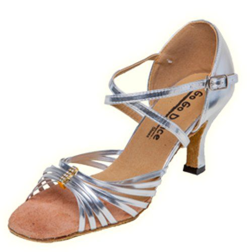 GoGo Dance Shoes GO9512 Open Toe Ballroom Shoes 275 8 -- Read more  at the image link.
