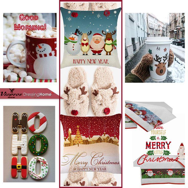 Καλημέρα! Στολίστε το σπίτι σε Christmas Mood!! Μαξιλαράκια και πετσέτες από την  --> Viopros Home - Βιοπρος Λευκά Είδη <-- 🎄✨❄️☕😊🎅  ↘️Επικοινωνήστε μαζί μας για διαθεσιμότητα ☎️ Τηλεφωνικές παραγγελίες: 210 3221618  📧 e-mail: info@dressinghome.com 🚚 Δωρεάν μεταφορικά με αγορές άνω των 49€  #dressinhhome #vioproshome #christmasmood #goodmorning #christmaspillows #christmastowels #christmas #winter #homelinen #newcollection #homedecoration #homedecor #homeaccessories #home…