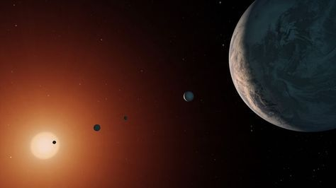Astronomers Reveal TRAPPIST-1 Planetary System is Older Than Our Solar System