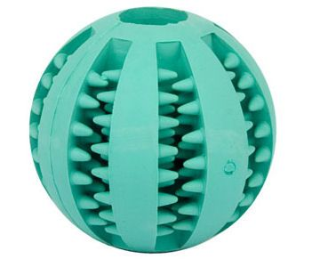 Round Ball Dog Chew Toy-Hygiene Dog Ball for Great Dane [TT7##1094 5 cm Better dental hygiene dog ball] : Great Dane from all-about-great-dane-dog-bre