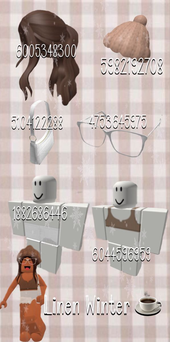 Aesthetic Outfits Roblox : aesthetic, outfits, roblox, Aesthetic, Linen, Winter, Decal, Design,, Custom, Decals,, Coding, Clothes