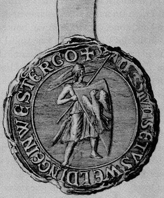 Magnus Forteman, 9de eeuw (veroveraar Rome), Almenum, Friesland (NL)