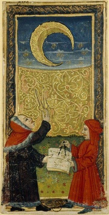 "windypoplarsroom:  Author Unknown ""Charles VI (or Gringonneur) Deck; Le tarot dit de Charles VI"" - (15thcentury)."