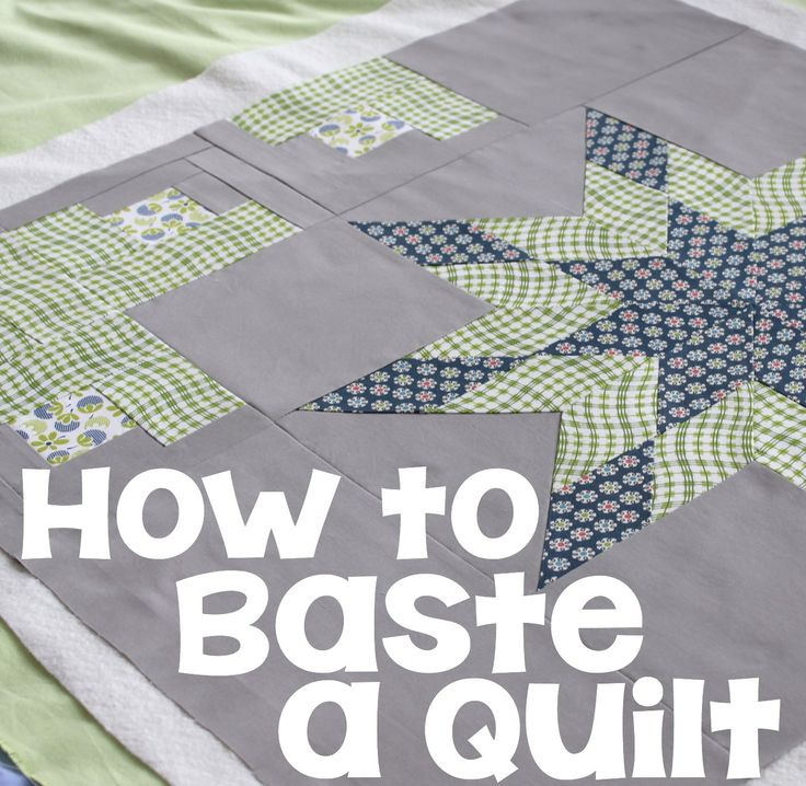 How to Baste a Quilt - Learn how I spray baste my quilts - much quicker and easier than some other methods! #quilting #tutorial #HowTo