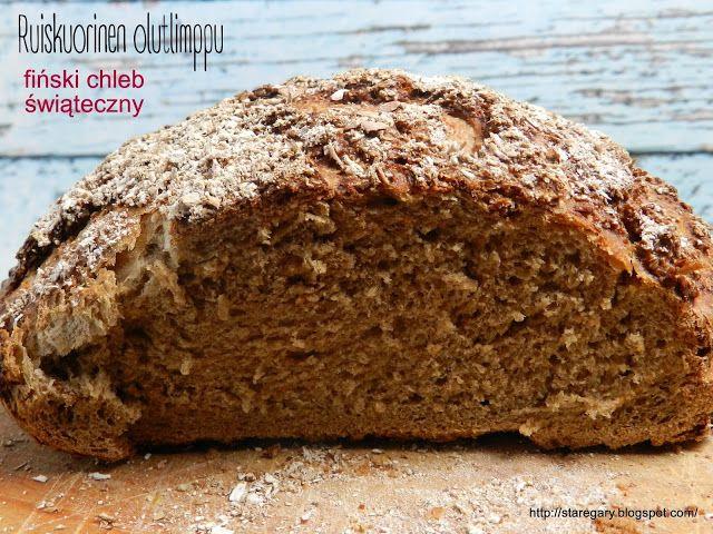 Stare Gary: Ruiskuorinen olutlimppu – fiński chleb świąteczny ...