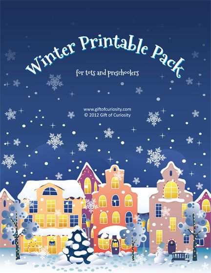 Download >> Winter Printable Pack - Gift of Curiosity