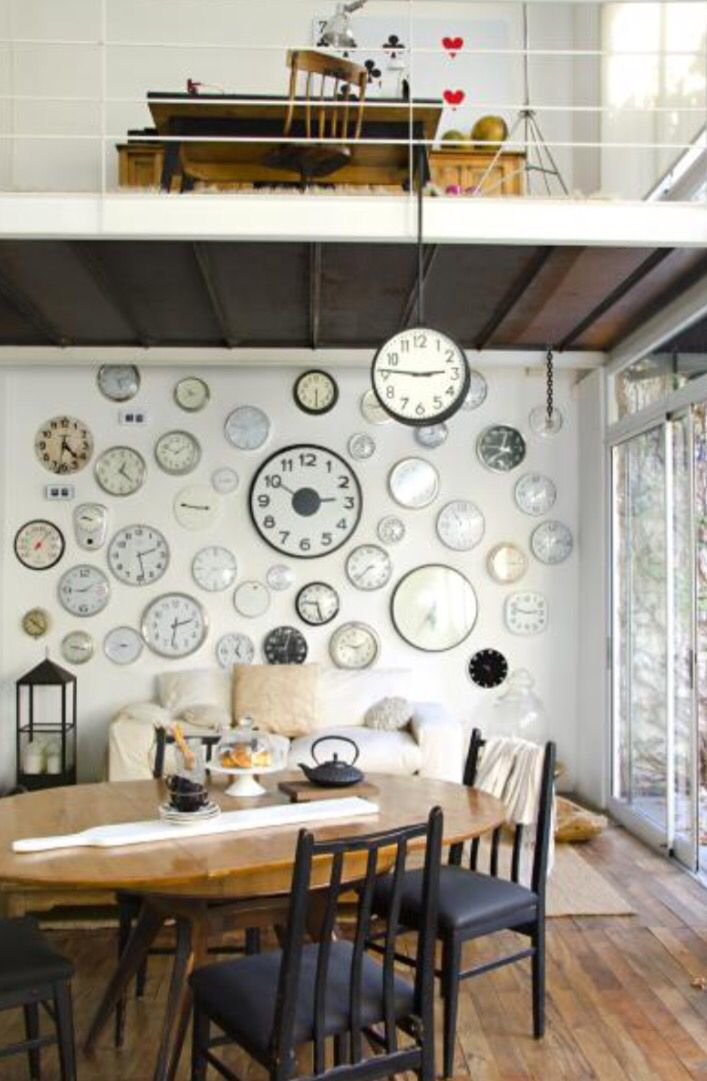 "This timesless dining area is from our feature ""Perfect Timing"""