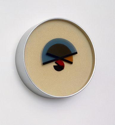 Clock design by Bruno Munari