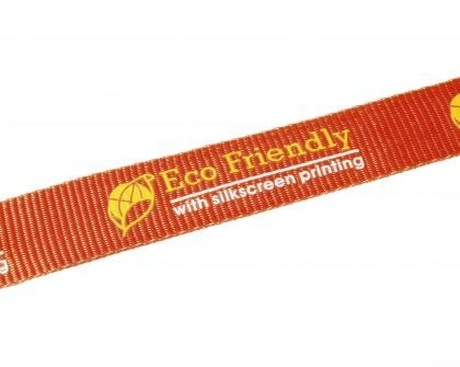 Eco-Friendly Lanyards........  Eco-friendly 20mm PLA Flat Lanyard. Made from PLA; a material derived from easily renewable corn. Comes with Lobster claw fitting and plastic safety buckle as standard. Lanyards are useful and practical promotional products. Choose from a variety of fitting and attachments depending on the use of the Lanyard. We can also produce and attach welded pockets and personalised name card or ID badges printed in full colour, please contact us for details.