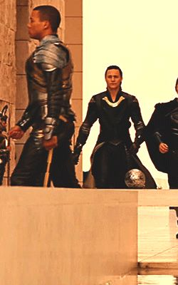 The fact that Loki only carried daggers to Jotunheim is incredible! I know he's got magic too, but still.