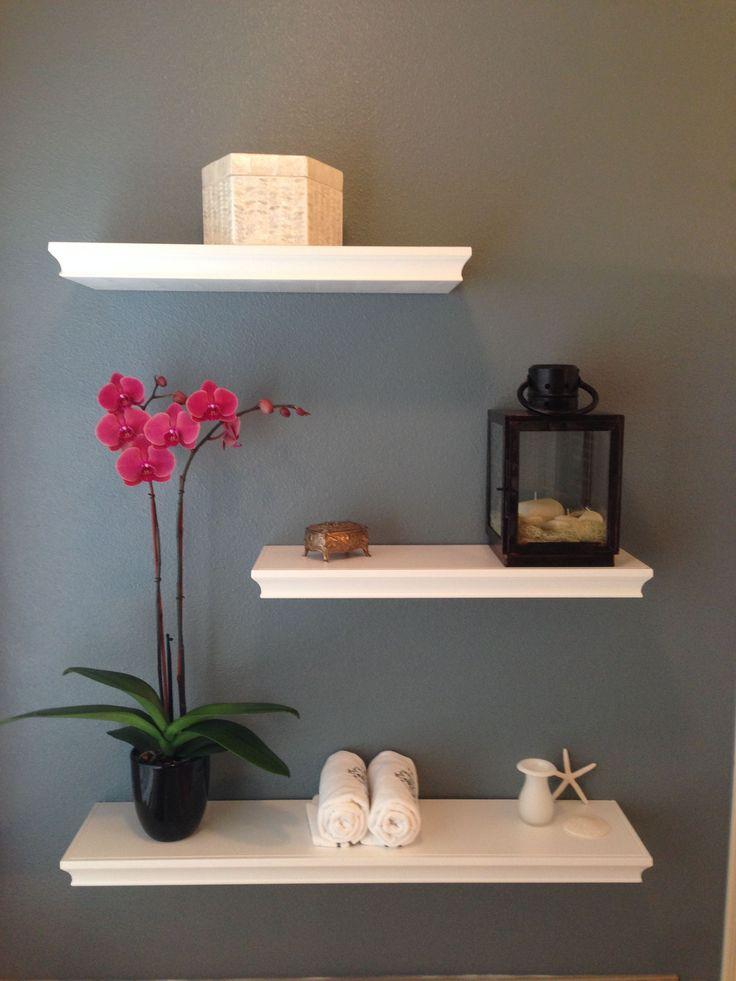5 Fabulous Unique Ideas: Floating Shelf Nightstand Style floating shelf kitchen …  – Long Floating Shelf