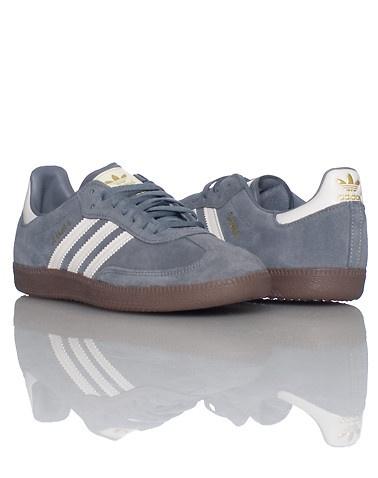 adidas MENS SAMBA SNEAKER Grey