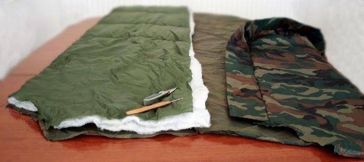 DIY Hammock Underquilt Sleeping Bag