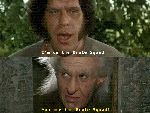 "When we met the Brute Squad. | 21 ""Princess Bride"" Scenes That Prove It's The Best Movie Ever"