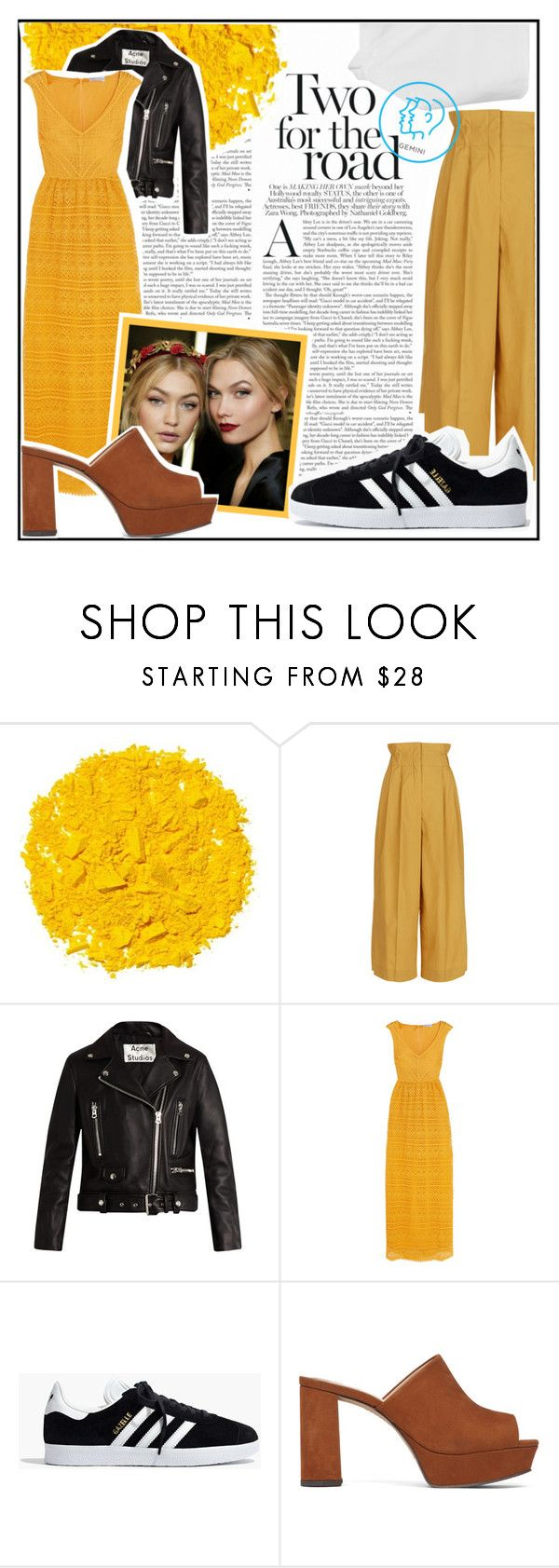 """GEMINI"" by lolveme on Polyvore featuring Illamasqua, Sonia Rykiel, Acne Studios, RED Valentino, Madewell and Vince Camuto"