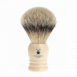 Pędzel do golenia klasyczny MÜHLE , kość słoniowa, Silvertip 091K257