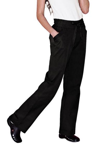 Live Sweet drawstring wide elastic scrub pant.