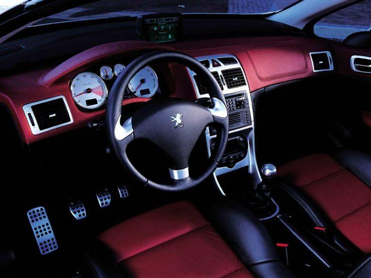 Peugeot 307 CC interior