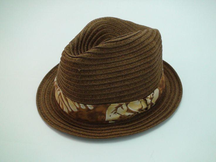 Tommy Bahama® Relax Dark Brown Lazy Bohemian Fedora Beach Hat