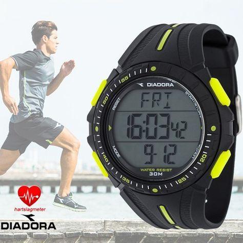 Diadora Cardio Sporthorloges Met Hartslagmeter