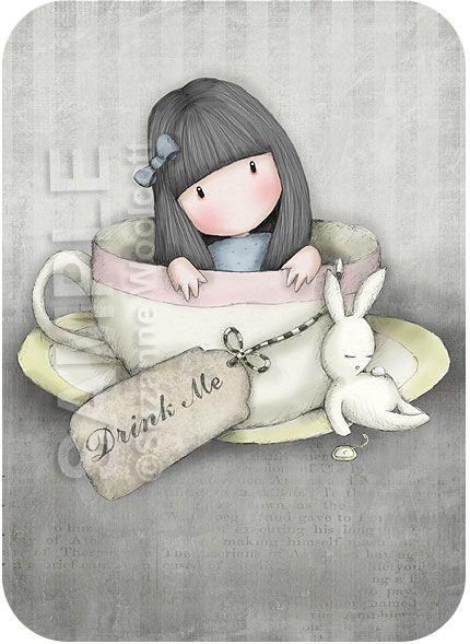The Sweet Tea by gorjuss.deviantart.com on @deviantART