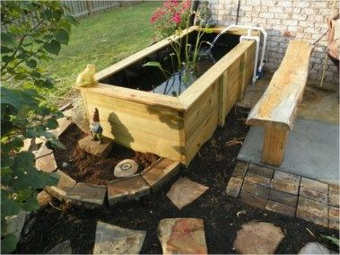 46 Stunning And Unique Patio Above Ground Koi Ponds That Will Impress You