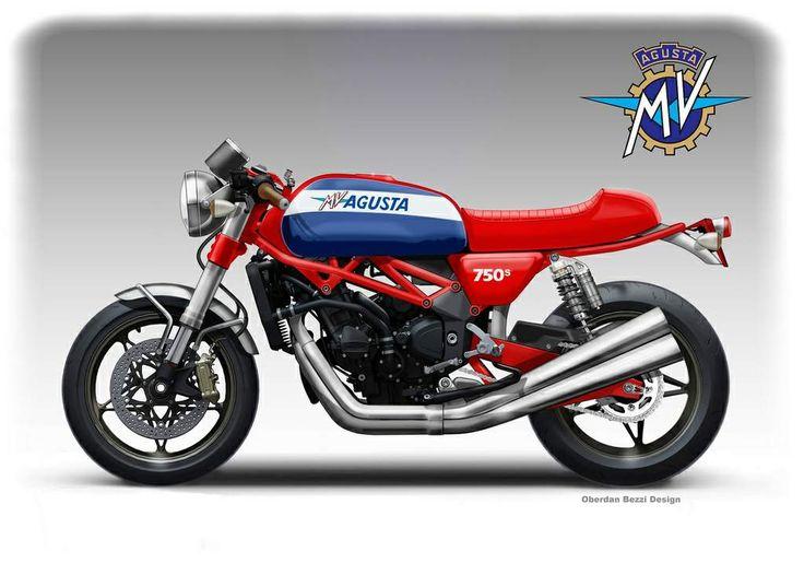 MV Agusta 750S Classic Concept